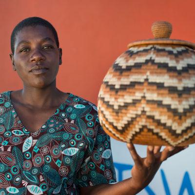 Crafthood Etsha basket weaver
