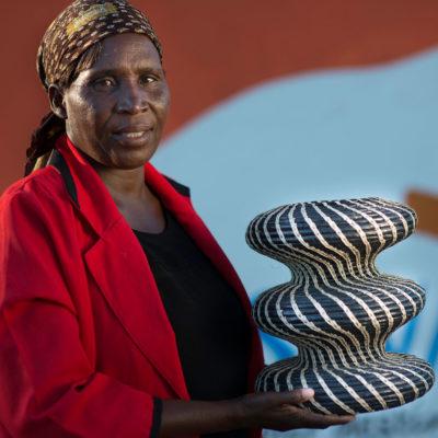 Etsha basket weaver