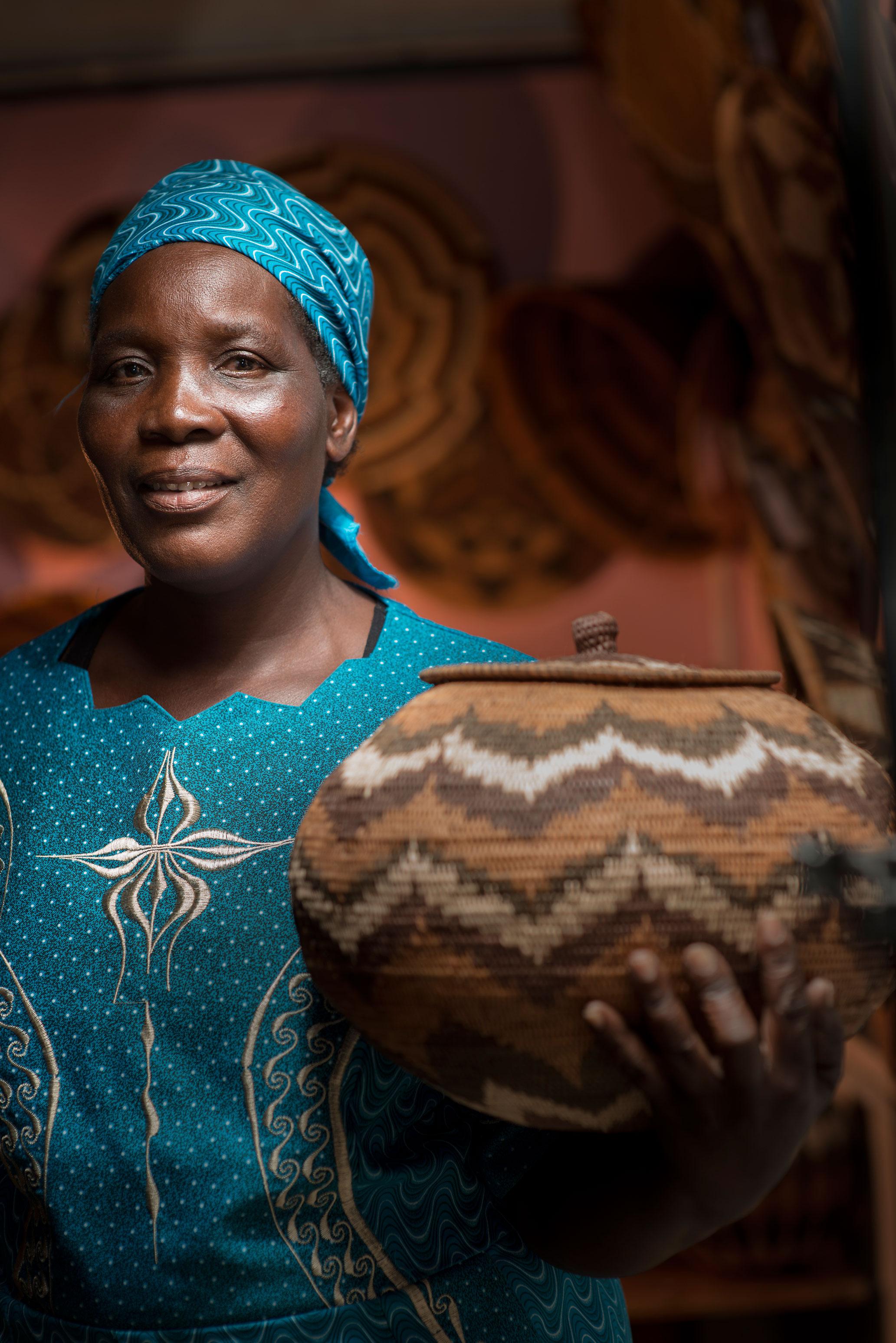 Ngwao Boswa Basket Weavers