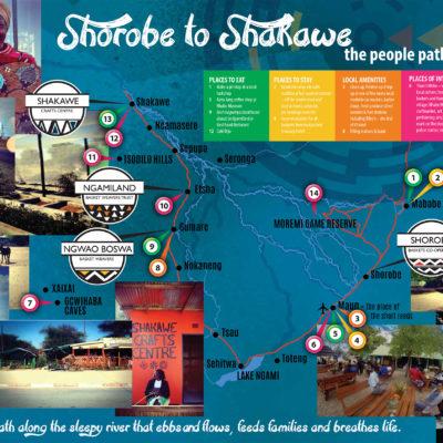 Shorobe to Shakawe – the people path