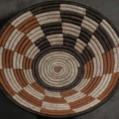 Roof of the rondavel basket pattern